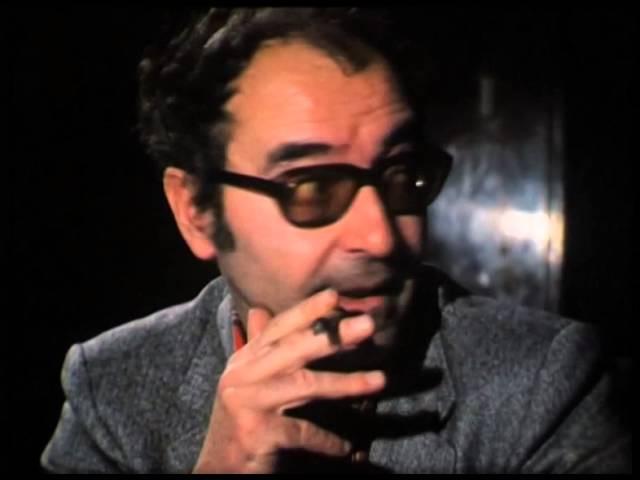 Jean-Luc Godard (1981) by Gérard Courant - Cinématon #106