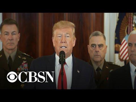 Trump says Iran