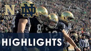 Navy vs. Notre Dame | EXTENDED HIGHLIGHTS | 11/16/19 | NBC Sports
