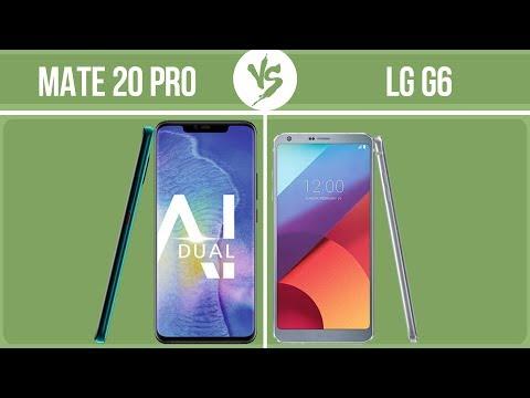 Huawei Mate 20 Pro vs LG G6 ✔️