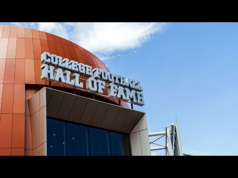 Inside The New College Football Hall Of Fame | CampusInsiders