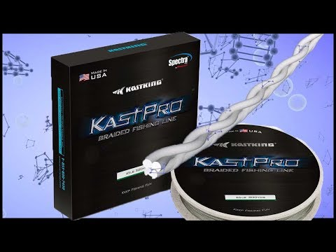 MADE IN USA FISHING LINE (How It's Made) - KastKing KastPro Spectra Braided Fishing Line