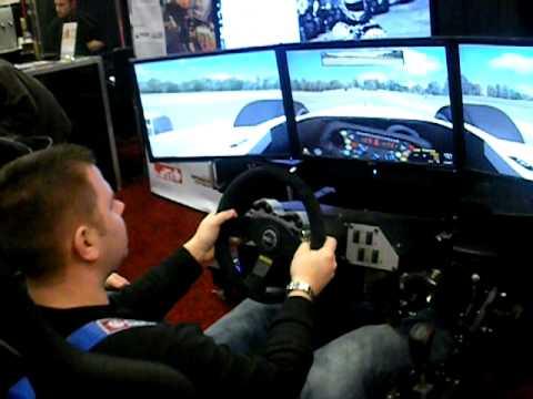 Toronto Autoshow F1 Simulator (2011) Gara