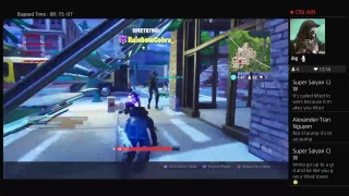 PS4 Fortnite Battle Royale Live Stream Road to 1k subs & Playing With Subs
