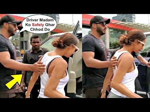 Arjun Kapoor Very Protective For Girlfriend Malaika Arora Khan
