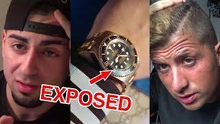 Armoo en Joey Bravo EXPOSED! Neppe Rolex, Ik LOEV niet! - De Horloges van Nederlandse YouTubers
