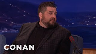 Jay Oakerson Started A Rumor That Almost Got Him Sued  - CONAN on TBS