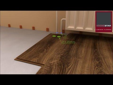 Технология укладки ламината. Наглядная видео инструкция.