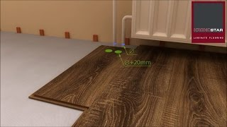 Технология укладки ламината. Наглядная видео инструкция.(Технология укладки ламината с Click замком видео инструкция. Укладка подложки, укладка ламината, укладка..., 2015-06-16T19:17:31.000Z)