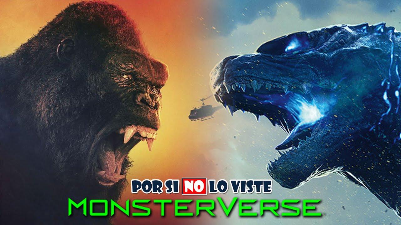 Por si no lo viste: El MonsterVerse (Kong Skull Island y Godzilla 1 y 2)