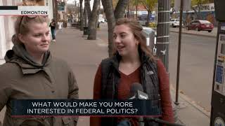 What would make you more interested in federal politics? | Outburst
