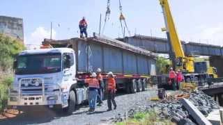Vec: Don Rv Rail Bridge Replacement Time-lapse