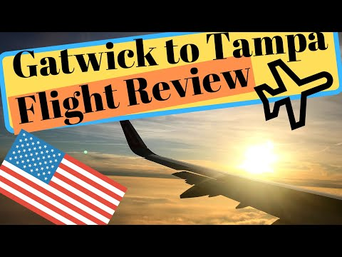 Gatwick/Tampa BA2167 Flight Review