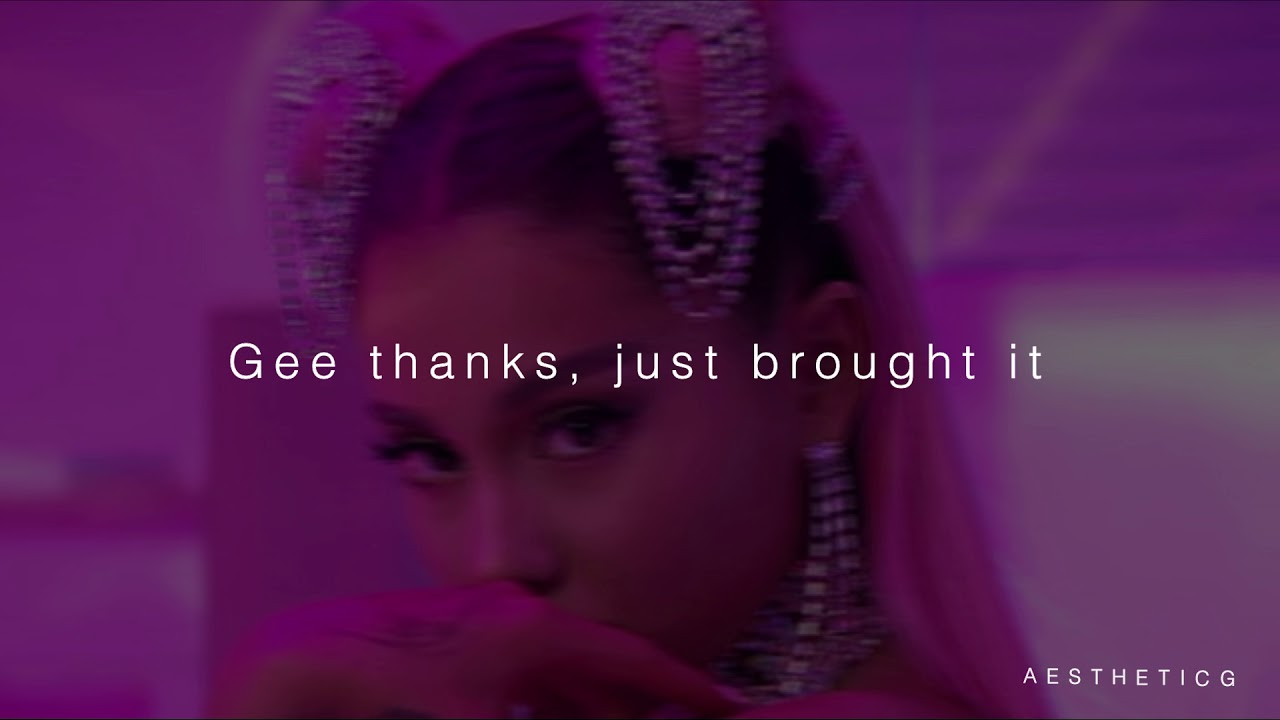 Ariana Grande- 7 Rings (lyrics)