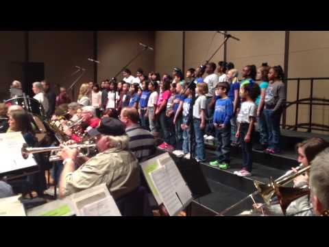 Dallas Park Elementary Choir With FW Civic Orchestra
