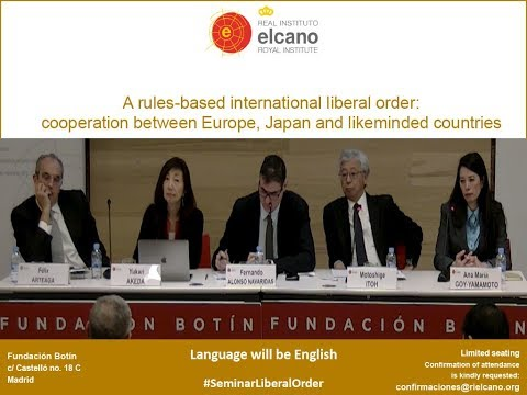 A rules-based international liberal order: Japan, Europe and likeminded countries: Session 2