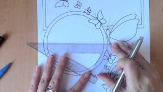 Apprendre à Dessiner - tuto pas à pas - dessin celtique et papillons aux feutres PARTIE 3