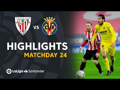 Ath. Bilbao Villarreal Goals And Highlights