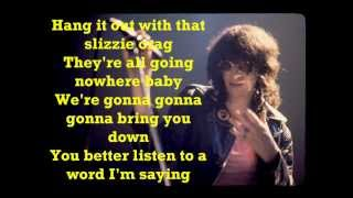 Joey Ramone-Going Nowhere Fast [Lyrics]