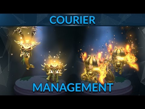 Managing The Courier Takes Teamwork | Dota 2 Guide | GameLeap