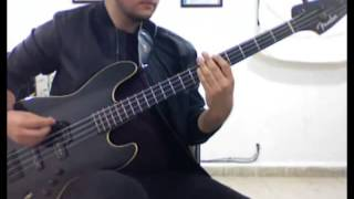 Capital Cities - Origami (Bass Cover w/ Pick)