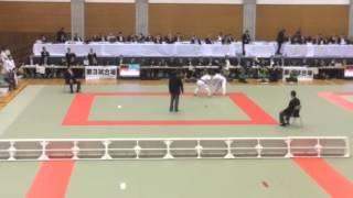 2014年全日本カデ柔道 66kg級決勝戦 阿部一二三vs上江一平