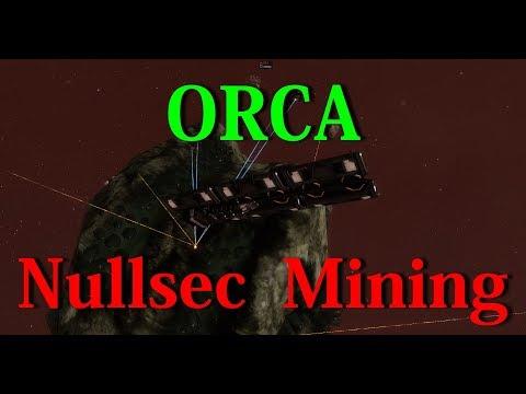 Orca Nullsec Mining - EVE Online