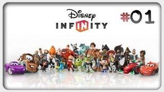 Let's Play: Disney Infinity Deutsch #01 German Walkthrough Online Gameplay