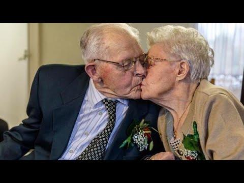 80 jarig huwelijk Arend en Aaltje: 80 jaar getrouwd en nog steeds verliefd   YouTube 80 jarig huwelijk