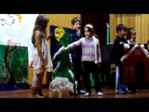 Colours of Winter Sung by Grades 3&4
