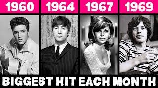 Canción Más Famosa Cada Mes en los 60s