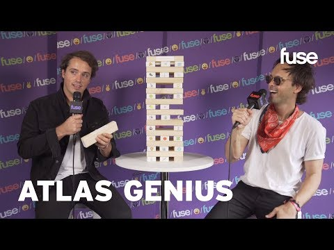 Atlas Genius Play Emoji Tower & Talk New Single 63 Days | Lollapalooza 2017