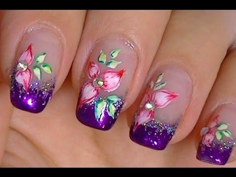 Snap Bonitas Unas De Flores Rosas Beautiful Pink Flower