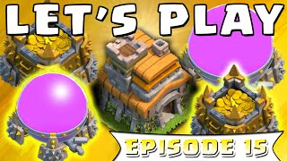 Clash of Clans - Town Hall 7 Farming Base! Townhall 7 Strategy | Let's Play ClashofClans (#15)