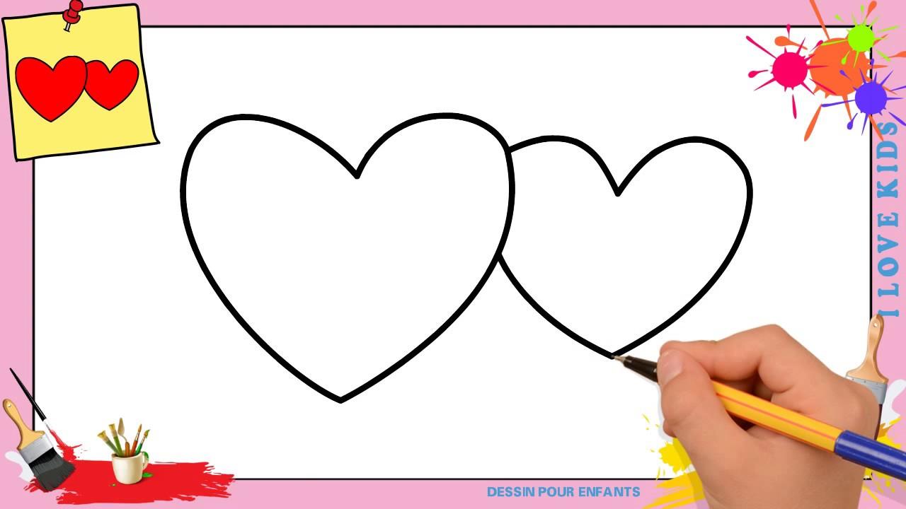 Dessin Coeur Facile Comment Dessiner Un Coeur Facilement Etape Par Etape Youtube