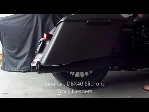 Rinehart DBX40 Exhaust