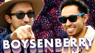 Ryan and Shane Eat Everything Boysenberry At Knott