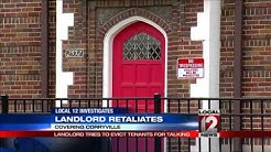 Landlord tries to evict tenants in retaliation