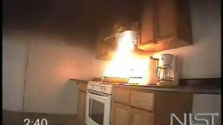 Incendio fuera de control en la cocina - Demostración