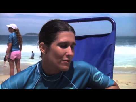 Rio charity helps the disabled catch a wave