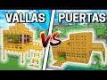 CASA DE PUERTAS VS CASA DE VALLAS CON CARLOS MINECRAFT mp3