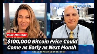 $100,000 Bitcoin Price Could Come as Early as Next Month | Mike McGlone