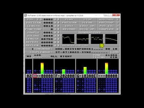 """""""Drivin' Force"""" - Amiga MOD File - Reworked In Mixcraft"""