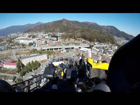 【4K】 富士急ハイランド ええじゃないか/Fuji-Q Highland Eejanaika