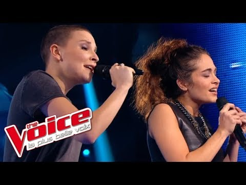 Calogero – Prendre racine | Anne Sila VS Pompom Pidou | The Voice France 2015 | Battle