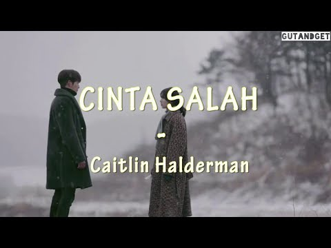 Cinta Salah - Caitlin Halderman ( Lirik Lagu )