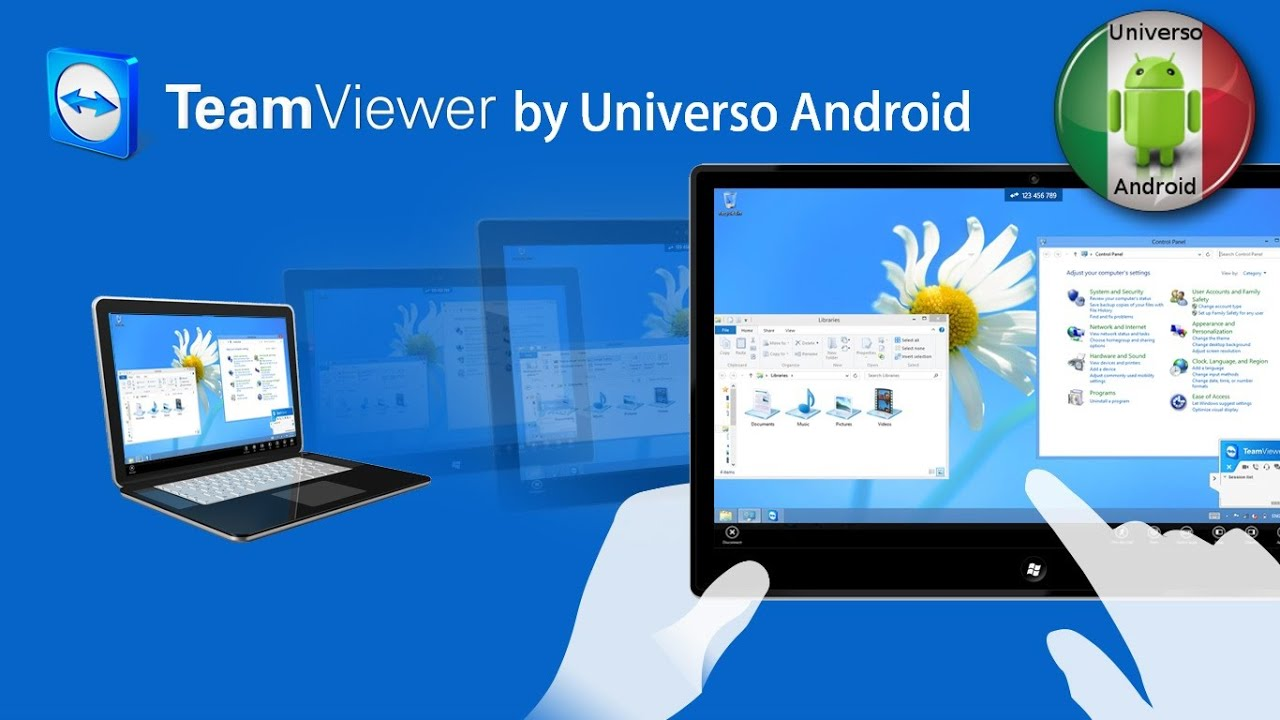 controllare telefono android da pc teamviewer