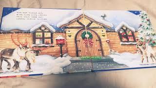 娘の大好きな絵本 (サンタさんのてがみ) 何回も練習しました。頑張って...