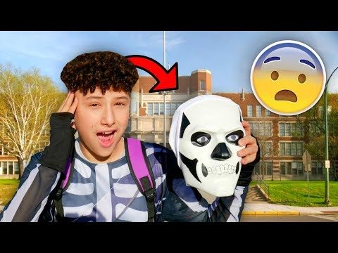 BULLIED at SCHOOL for WEARING a FORTNITE COSTUME?!
