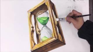 울산하얀나무 수업시범동영상_기초디자인_모래시계